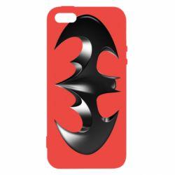 "Чехол для iPhone5/5S/SE Batman ""3d Logo"""