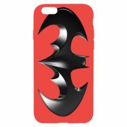 "Чехол для iPhone 6/6S Batman ""3d Logo"""