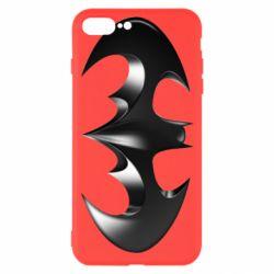 "Чехол для iPhone 7 Plus Batman ""3d Logo"""