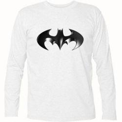 """Футболка с длинным рукавом Batman """"3d Logo"""" - FatLine"""