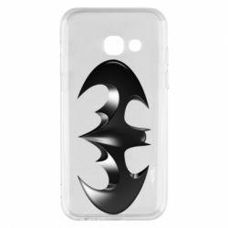 "Чехол для Samsung A3 2017 Batman ""3d Logo"""