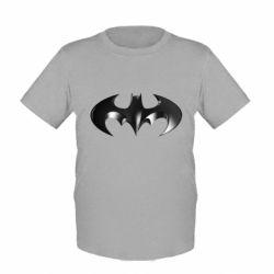 """Детская футболка Batman """"3d Logo"""" - FatLine"""