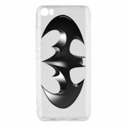 "Чехол для Xiaomi Mi5/Mi5 Pro Batman ""3d Logo"""
