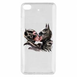 Чехол для Xiaomi Mi 5s Batman and Catwoman Kiss