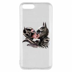 Чехол для Xiaomi Mi6 Batman and Catwoman Kiss