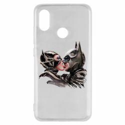 Чехол для Xiaomi Mi8 Batman and Catwoman Kiss