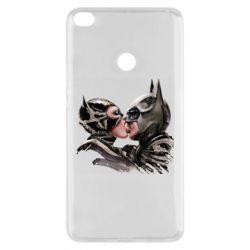 Чехол для Xiaomi Mi Max 2 Batman and Catwoman Kiss
