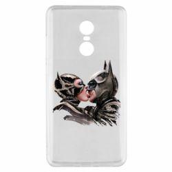 Чехол для Xiaomi Redmi Note 4x Batman and Catwoman Kiss