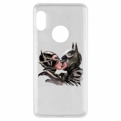 Чехол для Xiaomi Redmi Note 5 Batman and Catwoman Kiss
