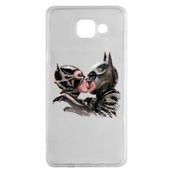 Чехол для Samsung A5 2016 Batman and Catwoman Kiss