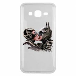 Чехол для Samsung J5 2015 Batman and Catwoman Kiss