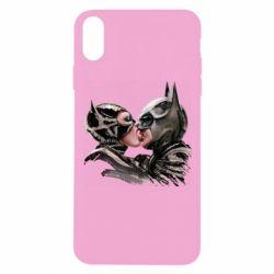 Чехол для iPhone Xs Max Batman and Catwoman Kiss