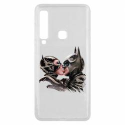 Чехол для Samsung A9 2018 Batman and Catwoman Kiss