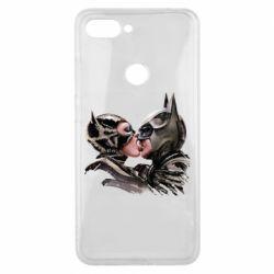 Чехол для Xiaomi Mi8 Lite Batman and Catwoman Kiss