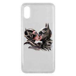Чехол для Xiaomi Mi8 Pro Batman and Catwoman Kiss