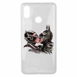 Чехол для Xiaomi Mi Max 3 Batman and Catwoman Kiss