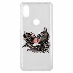 Чехол для Xiaomi Mi Mix 3 Batman and Catwoman Kiss