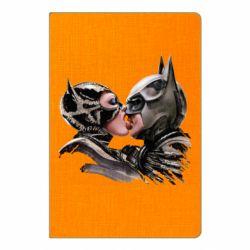 Блокнот А5 Batman and Catwoman Kiss