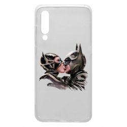 Чехол для Xiaomi Mi9 Batman and Catwoman Kiss