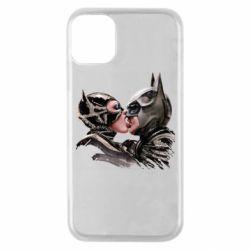 Чехол для iPhone 11 Pro Batman and Catwoman Kiss