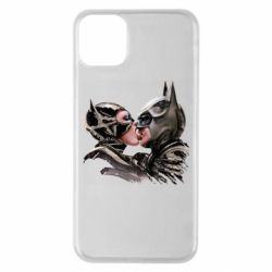 Чехол для iPhone 11 Pro Max Batman and Catwoman Kiss
