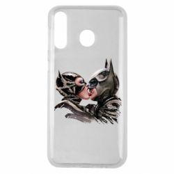 Чехол для Samsung M30 Batman and Catwoman Kiss