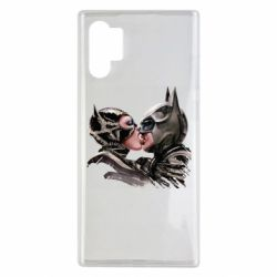 Чохол для Samsung Note 10 Plus Batman and Catwoman Kiss