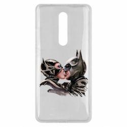 Чехол для Xiaomi Mi9T Batman and Catwoman Kiss