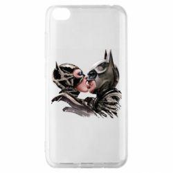 Чехол для Xiaomi Redmi Go Batman and Catwoman Kiss