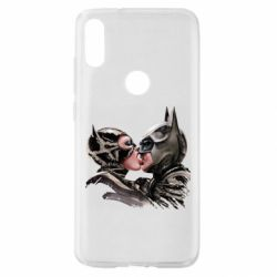 Чехол для Xiaomi Mi Play Batman and Catwoman Kiss