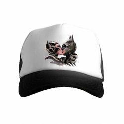 Детская кепка-тракер Batman and Catwoman Kiss