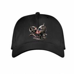Детская кепка Batman and Catwoman Kiss