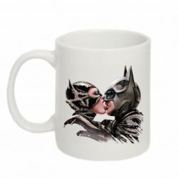 Кружка 320ml Batman and Catwoman Kiss