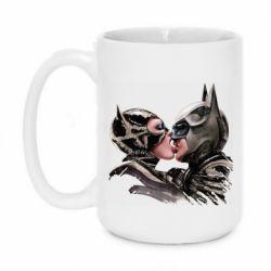 Кружка 420ml Batman and Catwoman Kiss