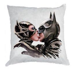 Подушка Batman and Catwoman Kiss