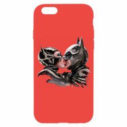 Чехол для iPhone 6/6S Batman and Catwoman Kiss