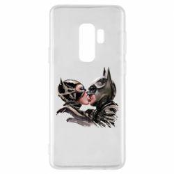 Чехол для Samsung S9+ Batman and Catwoman Kiss