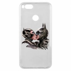 Чехол для Xiaomi Mi A1 Batman and Catwoman Kiss
