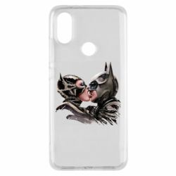 Чехол для Xiaomi Mi A2 Batman and Catwoman Kiss