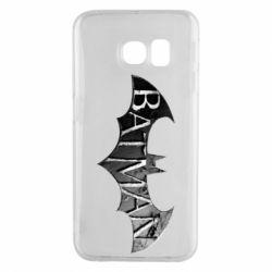 Чехол для Samsung S6 EDGE Batman: arkham city