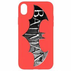 Чехол для iPhone XR Batman: arkham city