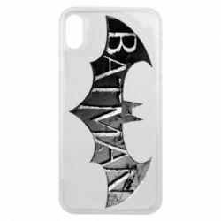 Чехол для iPhone Xs Max Batman: arkham city