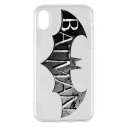 Чехол для iPhone X/Xs Batman: arkham city