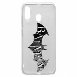Чехол для Samsung A30 Batman: arkham city