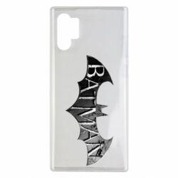 Чехол для Samsung Note 10 Plus Batman: arkham city