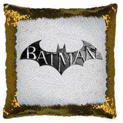Подушка-хамелеон Batman: arkham city