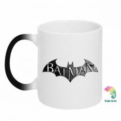 Кружка-хамелеон Batman: arkham city