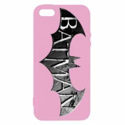 Чехол для iPhone5/5S/SE Batman: arkham city