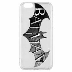 Чехол для iPhone 6/6S Batman: arkham city