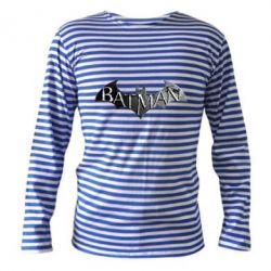 Тельняшка с длинным рукавом Batman: arkham city